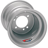 AMS silver stål fälg bak