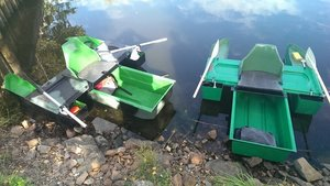 Lådbåten / Portabel minibåt