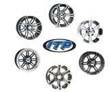 "ITP  15"" aluminium fälg set"