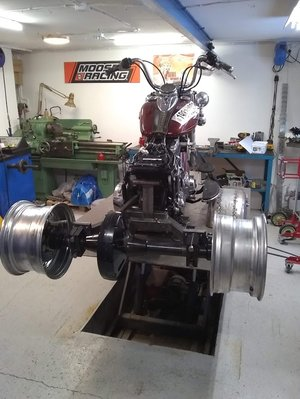 2009 HD Heritage Softail   Trike bygge