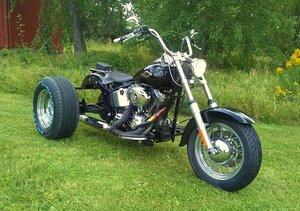 2009 HD FLSTC  Softail   Trike